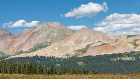 Colorful Peaks in the San Juan Mountains Stock Photo