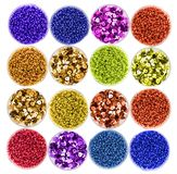 colorful pearls Royalty Free Stock Photos