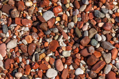 Colorful  pebble Royalty Free Stock Image