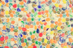 Colorful pebble stone Royalty Free Stock Images