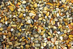 Colorful pebbles Stock Image
