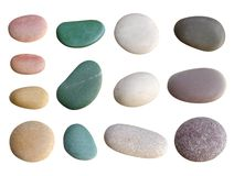 Colorful pebbles Stock Photo