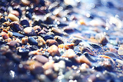 Colorful pebbles Stock Photography