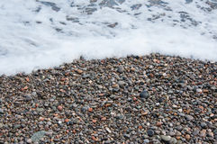 Colorful pebbles on the beach. Icolorful pebbles on the beach n high quality Royalty Free Stock Photos