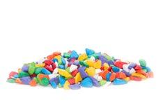 Free Colorful Pebbles Rock For Decoration Aquarium Fish Tank Stock Photos - 101732173