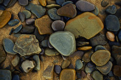 Colorful pebbles Royalty Free Stock Image
