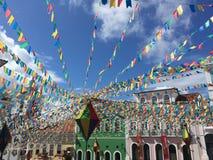 Colorful Pelourinho Stock Images