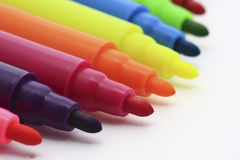 Colorful pen Stock Photos