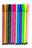 Colorful pen Stock Photo