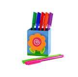 Colorful pen Royalty Free Stock Image