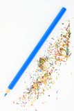 Colorful pencil. On a white background Royalty Free Stock Images