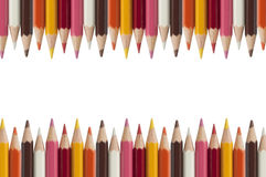 Free Colorful Pencil As White Background Stock Photography - 16528892