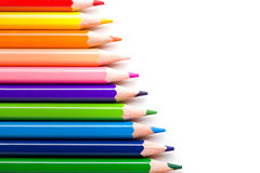Colorful Pencil Backdrop Royalty Free Stock Photo