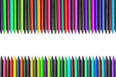 Free Colorful Pencil Crayons Royalty Free Stock Photos - 19196298