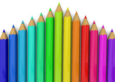 Colorful Pencil - 3D Stock Photos