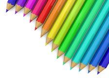 Colorful Pencil - 3D Stock Photos