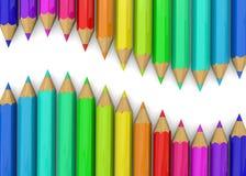 Colorful Pencil - 3D Stock Photo