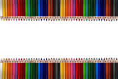 Colorful Pencil Frame 01 Royalty Free Stock Image