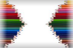 Colorful Pencil Frame 18 Stock Images