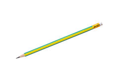 Colorful pencil isolated on a white background Royalty Free Stock Photo