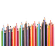 The Colorful Pencil Stock Photos