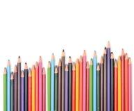 The Colorful Pencil Stock Photos