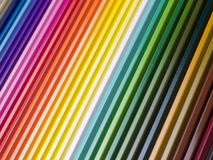 Colorful pencils. Background from colorful wooden pencils stock images