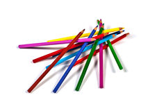 Colorful pencils Royalty Free Stock Images