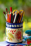 Colorful pencils. Stock Images
