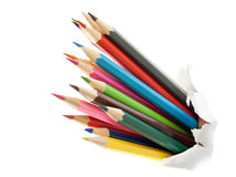 Colorful pencils. Royalty Free Stock Photos
