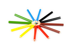 Colorful pencils Stock Photo