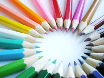 Colorful pencils Royalty Free Stock Photography