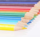 Colorful pencils. Back to school concept. Stock Photos