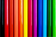 Colorful pencils background. Colorful pencils as spectrum background royalty free stock photography