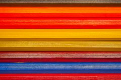 Colorful Pencils Background Royalty Free Stock Images