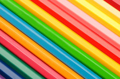 Colorful pencils background Royalty Free Stock Photos