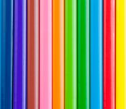 Colorful pencils for background or texture Stock Photography