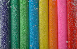 Colorful pencils close-up Royalty Free Stock Photography