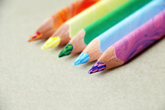 Colorful pencils. royalty free stock photo