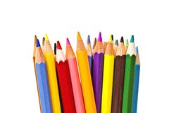 Colorful pencils on focus Stock Photography