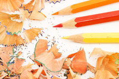Colorful pencils Stock Photography