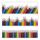 Colorful pencils set Royalty Free Stock Photo
