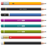 Colorful Pencils. Set of pencils for drawing and sketching Royalty Free Stock Photos