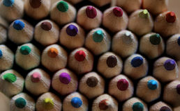 Colorful pencils. Pencils in several colors for painting Stock Photography