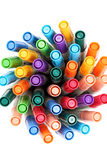 Colorful pens Stock Image