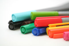 Colorful Pens Royalty Free Stock Image