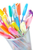 Colorful pens Stock Photo