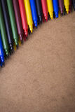 Colorful pens Royalty Free Stock Photos
