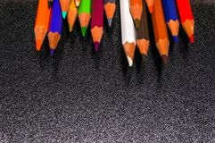 Colorful of pensil color Stock Photo