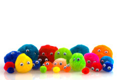 Colorful people Royalty Free Stock Photo